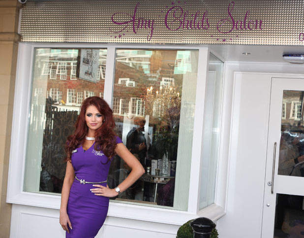 Amy Childs salon opening Brentwood, Essex