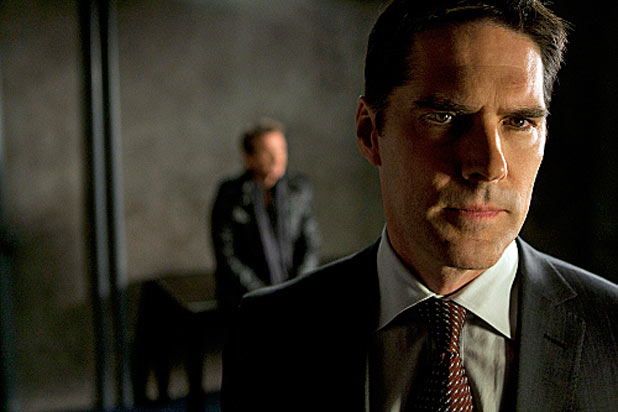 Thomas Gibson as Hotch in 'Criminal Minds'
