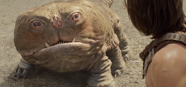 Woola, John Carter (Taylor Kitsch)