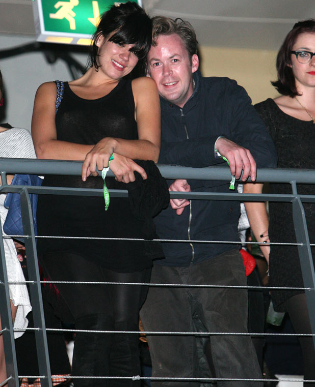 Lily Allen and boyfriend Sam Cooper
