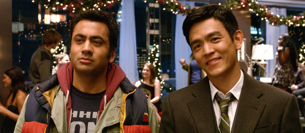 Kal Penn and John Cho in &#39;A Very Harold & Kumar 3D Christmas&#39;