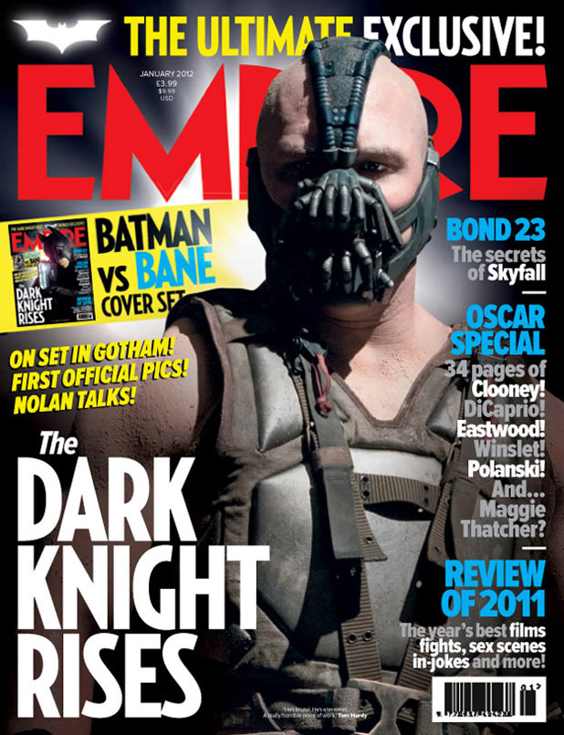 The Dark Knight Rises: Bale Empire cover