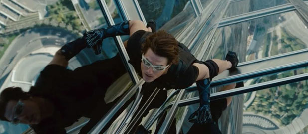 Tom Cruise in &#39;Mission: Impossible - Ghost Protocol&#39;