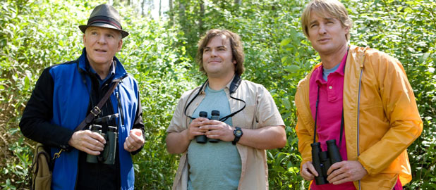 Steve Martin, Jack Black and Owen Wilson in 'The Big Year'