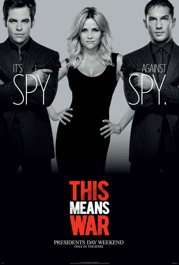 Poster for 'This Means War'