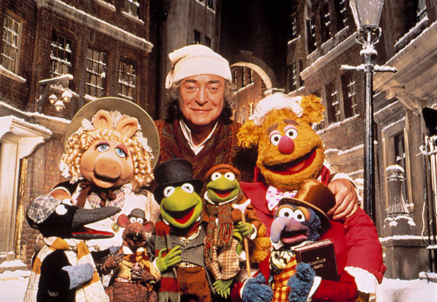 Michael Caine in 'The Muppet Christmas Carol'