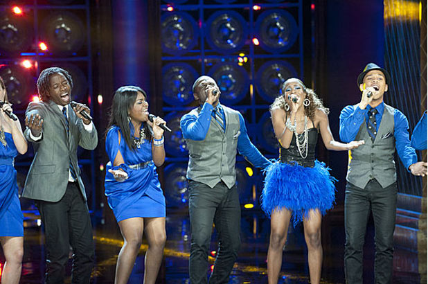 The Sing-Off Semi Finals: Afro Blue performance