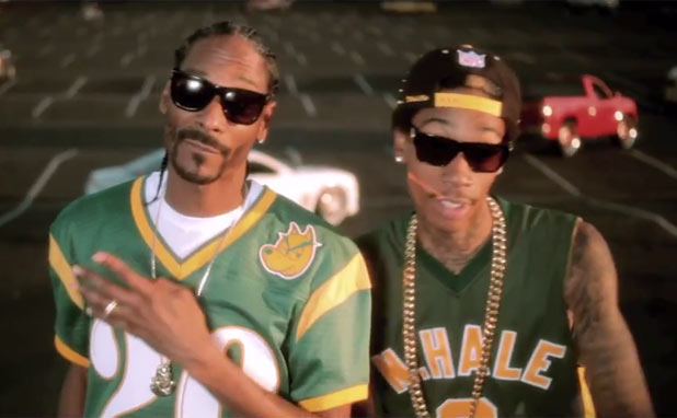 Snoop Dogg & Wiz Khalifa: 'Young, Wild and Free' ft. Bruno Mars (still)