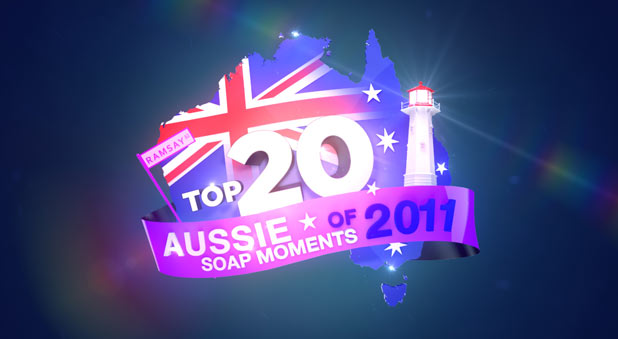 Top 20 Aussie Soap Moments - Channel 5 logo
