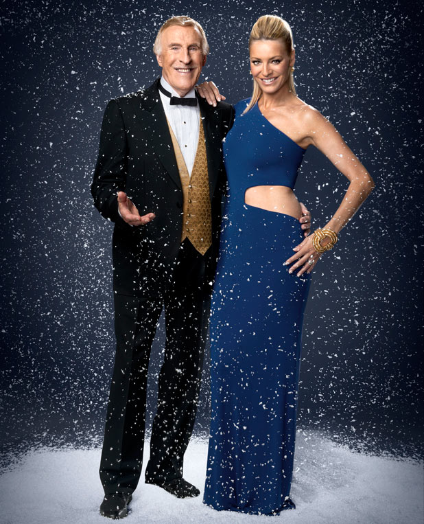 Strictly Come Dancing Christmas Special: Tess Daly, Bruce Forsyth