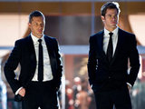 Tom Hardy and Chris Pine in 'This Means War'