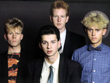 Depeche Mode: Vince Clarke, Andrew Fletcher, Martin Gore and Dave Gahan