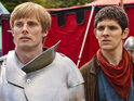 "Colin Morgan also promises ""banter"" between Merlin and Arthur (Bradley James)."