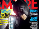 Official pictures of Batman and Bane debut on the cover of Empire.