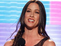 Alanis Morissette says she wants to be open about her post-partum depression.