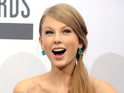 Taylor Swift beats Adele to 'Artist of the Year' at the American Music Awards.