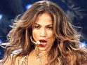 Jennifer Lopez performs a medley of three songs at the American Music Awards.
