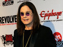 Black Sabbath star teases that his wife Sharon Osbourne is to blame for fire.