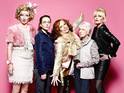 Take a look at a cast picture for the brand new episodes of Absolutely Fabulous.