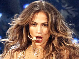 Jennifer Lopez performs at the 39th Annual American Music Awards