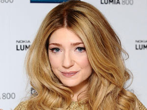 Nicola Roberts launches the Nokia Lumia 800 at the Carphone Warehouse on Oxford Street