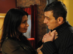 Carla tells Peter to go home to his wife