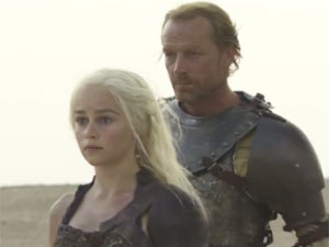 Game of Thrones Season 2 in production (still)