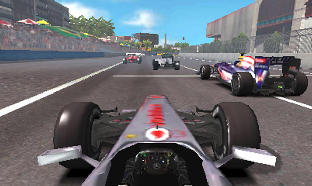 F1 2011 3DS Screenshot 2