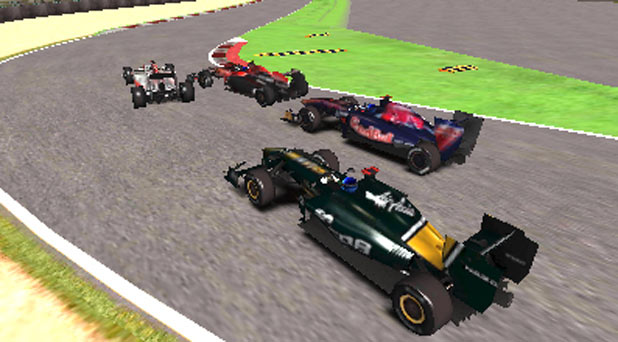 F1 2011 3DS Screenshot 3