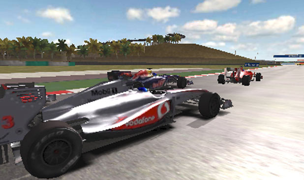 F1 2011 3DS Screenshot 4