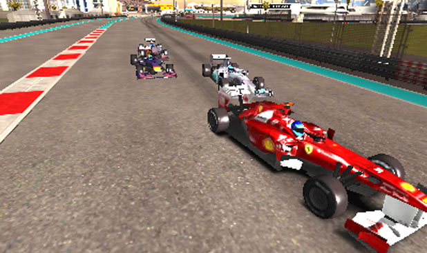 F1 2011 3DS Screenshot 5