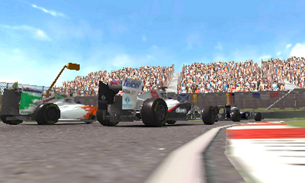F1 2011 3DS Screenshot 6