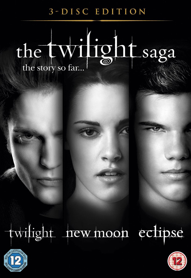 'The Twilight Saga' Triple Pack Blu-ray