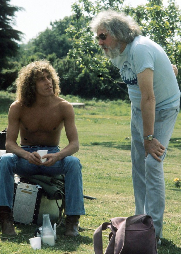 Ken Russell and Roger Daltrey