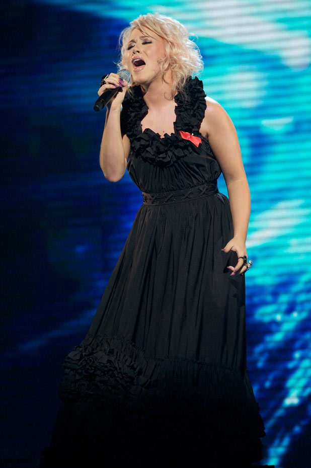 The X Factor: Amelia Lily performs an Avril Lavinge song