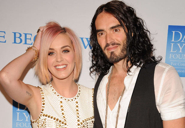 Katy Perry and Russell Brand attend the 3rd Annual 'Change Begins Within' Benefit Celebration