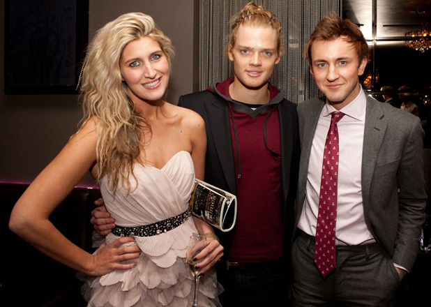 Francesca Hull, Fredrik Ferrier and Franics Boulle