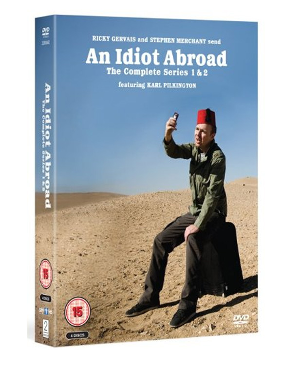'An Idiot Abroad 2' DVD