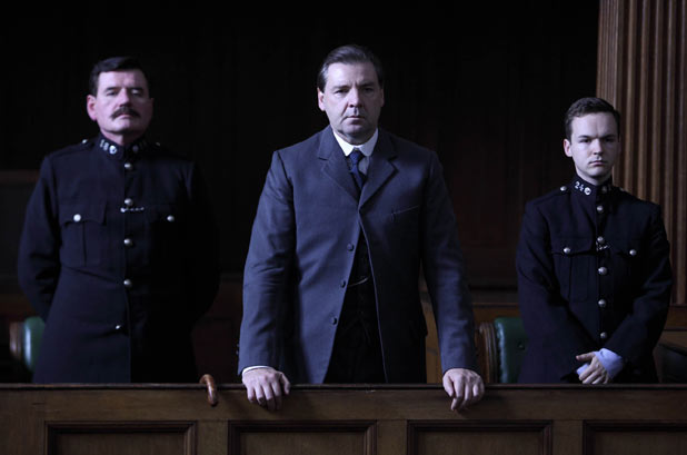 Downton Abbey: Bates is in the dock