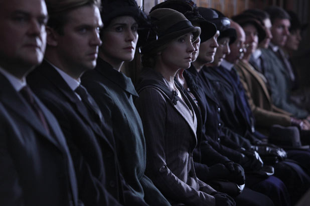 Downton Abbey: Anna watches on as Bates has his day in court