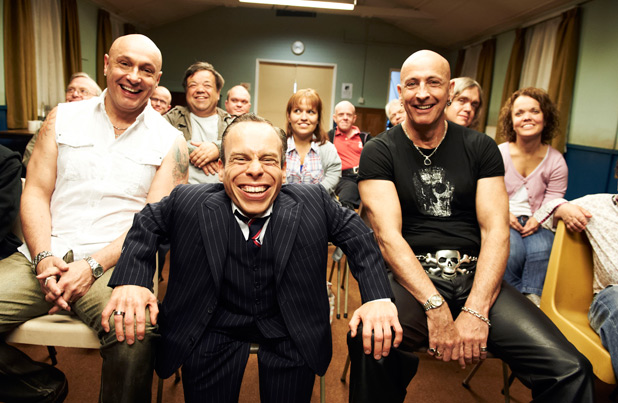 Warwick Davis and Right Said Fred