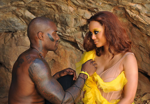 "ANTM S17E11 - ""Tyson Beckford"": Tyson Beckford and Tyra Banks"