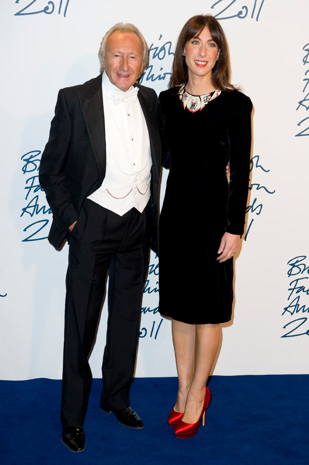 British entrepreneur Harold Tillman and Samantha Cameron