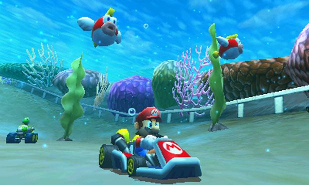 Mario underwater