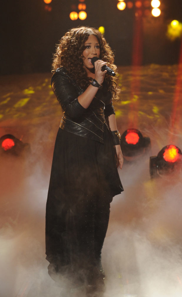 'X Factor' Top 7 performances in pictures: Melanie Amaro