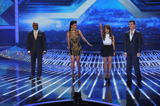 'X Factor' Top 7 performances in pictures: The judges