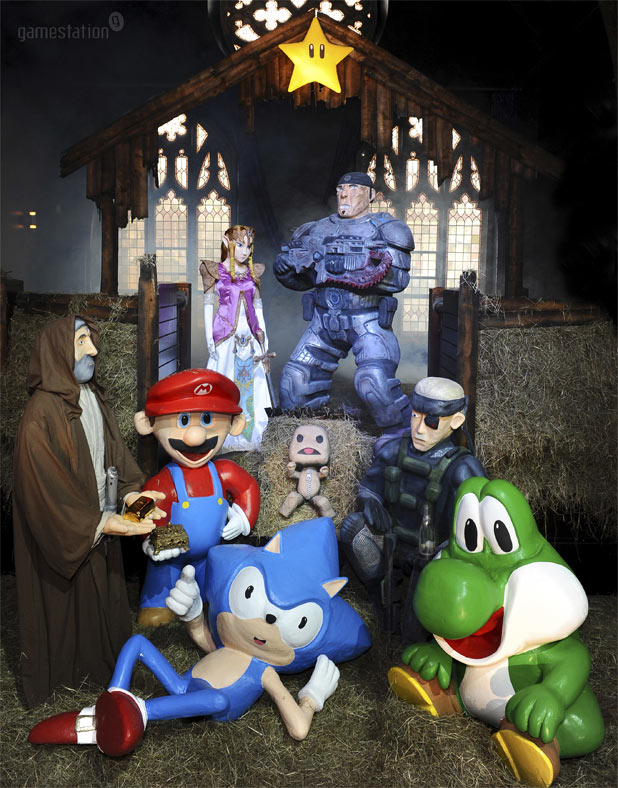 Gamestation Christmas Nativity
