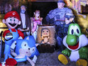Gamestation creates a gaming nativity scene featuring Sackboy, Solid Snake and Mario.