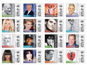 Famous vegetarians Pamela Anderson and Natalie Portman appear on US stamps for PETA.