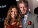 Eric Dane and Rebecca Gayheart's home is battered by winds in Los Angeles.